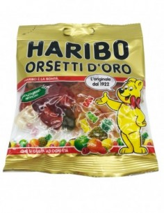 ORSETTI D'ORO BUSTA 100 G HARIBO