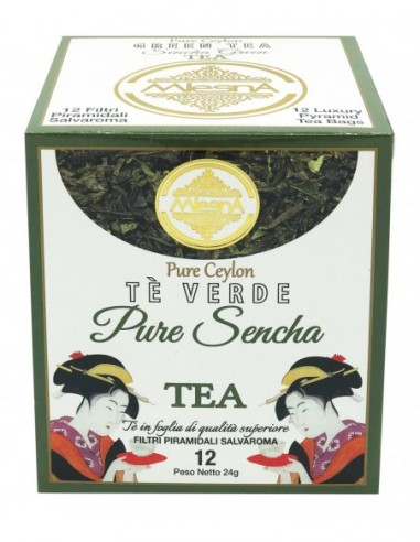 TEA  PIRAMIDI GREEN