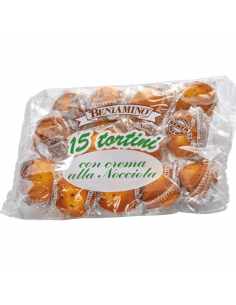 TORTINI NOCCIOLA 15PZ...